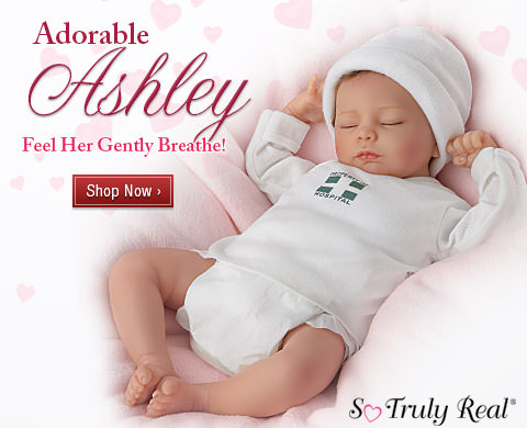 Adorable Ashley - Feel Her Gently Breathe! Shop Now