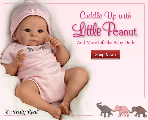 Cuddle Up with Little Peanut - And More Lifelike Baby Dolls - Shop Now