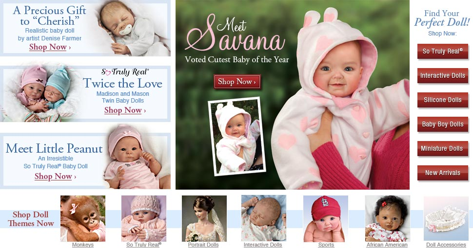 Meet Savana - Voted Cutest Baby of the Year - Shop Now