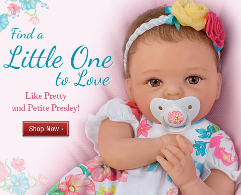 Find a Little One to Love - Like Pretty and Petite Presley! Shop Now