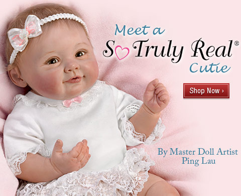 Meet a So Truly Real(R) Cutie - By Master Doll Artist Ping Lau - Shop Now