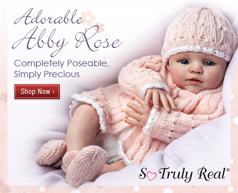 Adorable Abby Rose - Completely Poseable, Simply Precious - Shop Now