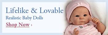 Lifelike & Lovable Realistic Baby Dolls - Shop Now