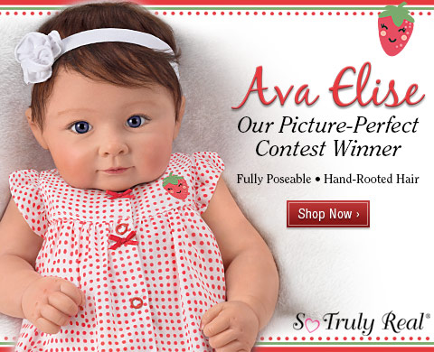 Ava Elise Our Picture-Perfect Contest Winner - Fully Poseable - Hand-Rooted Hair - Shop Now