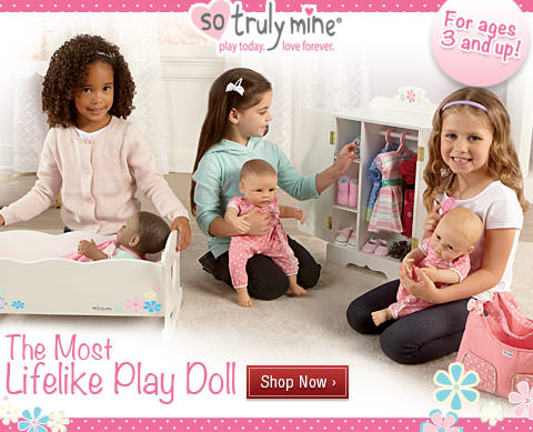 Lifelike & Lovable Realistic Baby Dolls - For Ages 3 and Up - Shop Now