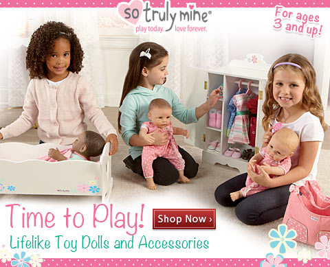 Time to Play! Lifelike Toy Dolls and Accessories - Shop Now