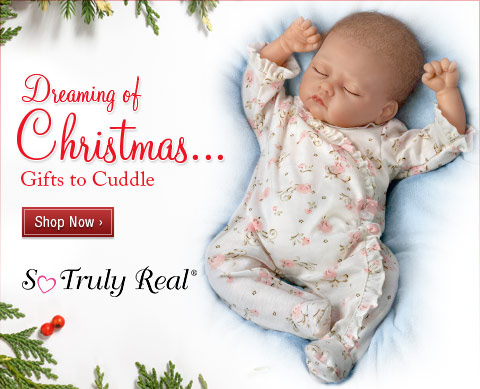 Dreaming of Christmas...Gifts to Cuddle - So Truly Real(R) - Shop Now