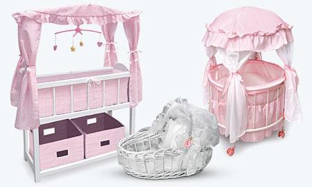 Doll Crib, Doll Chair, Doll Wardrobe