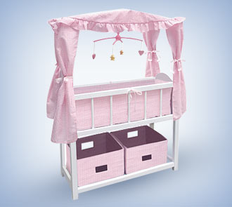 Baby Doll Crib With Canopy Baby Doll Accessories