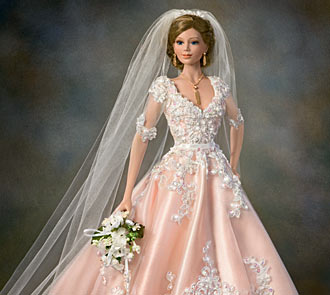Blushing Bride Doll