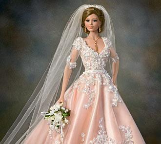Blushing Bride Doll