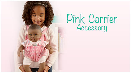shop the pink carrier accessory for So Truly Mine baby dolls