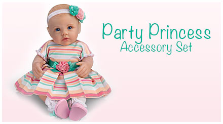 shop the party princess accessory set for So Truly Mine baby dolls