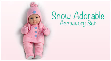 shop the snow adorable accessory set for So Truly Mine baby dolls