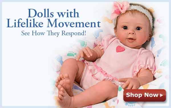 Dolls with Lifelike Movement - See How They Respond! Shop Now