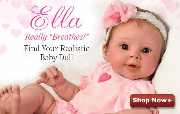 Ella Really 'Breathes'! Find Your Realistic Baby Doll - Shop Now