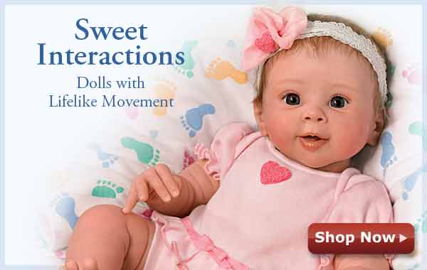 Sweet Interactions - Dolls with Lifelike Movement - Shop Now