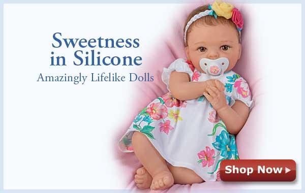 Sweetness in Silicone - Amazingly Lifelike Dolls - Shop Now