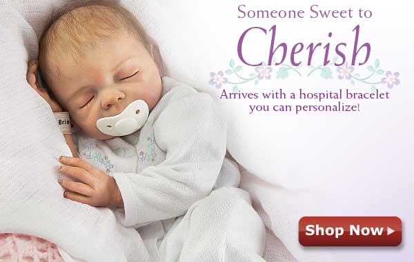 Someone Sweet to Cherish - Arrives with a hospital bracelet you can personalize! Shop Now
