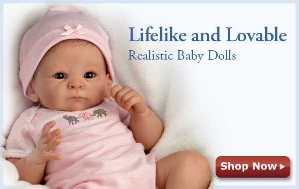 Lifelike and Loveable - Realistic Baby Dolls - Shop Now