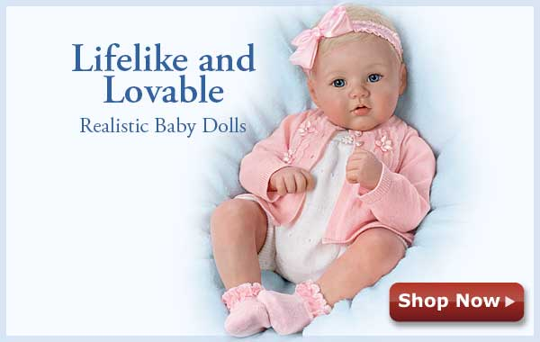 Lifelike and Lovable Realistic Baby Dolls - Shop Now