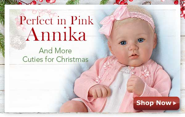 Perfect in Pink Annika and More Cuties for Christmas - Shop Now