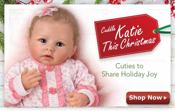 Cuddle Katie This Christmas - Cuties to Share Holiday Joy - Shop Now