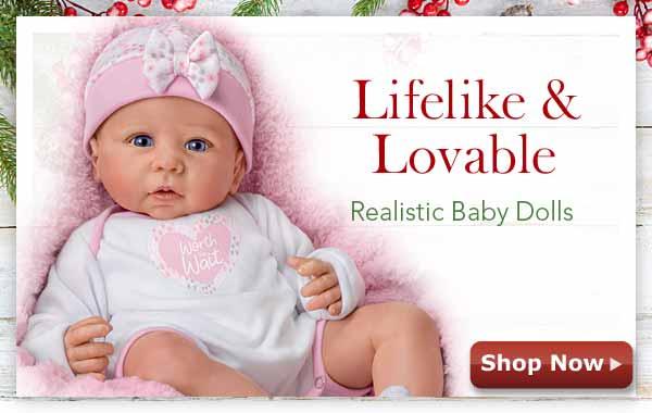 Lifelike & Lovable - Realistic Baby Dolls - Shop Now